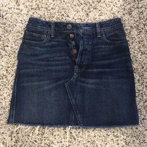 Dark blue Size 2 Abercombie and Fitch mini skirt